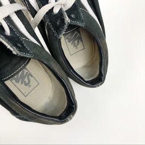 Old school Vans Suede sneakers
